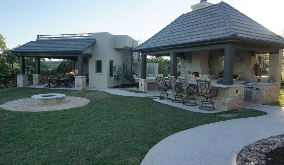 Cabana/Sun Deck & Summer Kitchen Outdoor Addition
